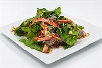 ПП Салат из зелени с грибами и миндалем